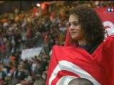 au Stade de France [France Tunisie]