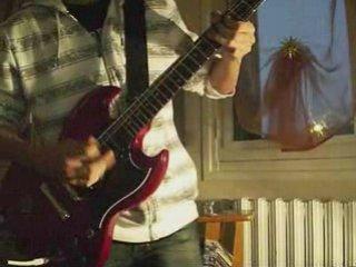 Rock guitar song