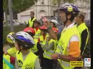La Rochelle : La sécurité à vélo dès le plus jeune âge