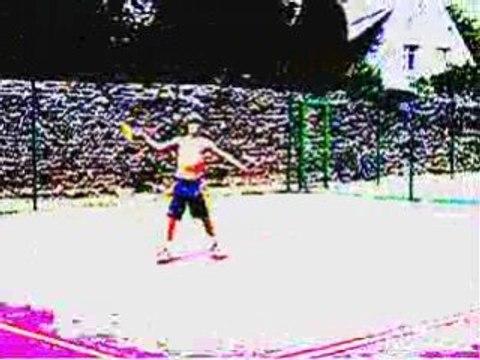 Moi Guillaume et mes ami et idole du tennis, zik de PASQUET