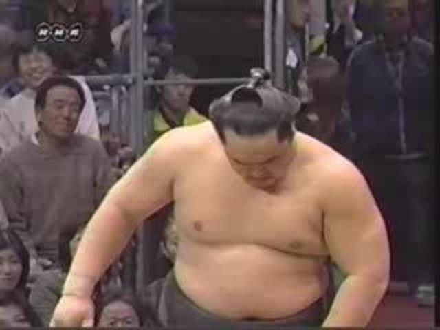 Prise de sumo: okuritsuridashi