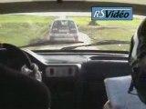 On board , rallye de Sombreffe 2008:Chris et dodo