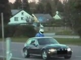 Police vs BMW Z3 M (Ghost Rider)