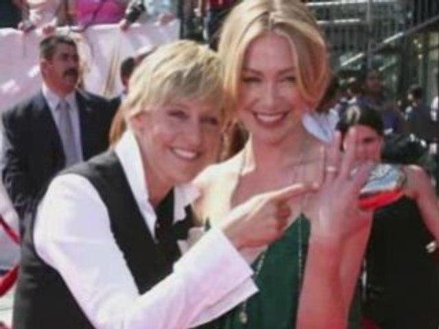 Celebrity Weddings - Ellen Degeneres