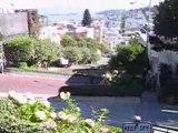 Freebording Lombard st. San Francisco