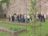 Inauguration des 7 jardins éphémères