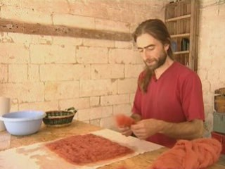 Documentaire Artisanat feutrage de la laine
