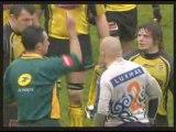 Rugby bagarre Pau vs Toulon et Agen vs Mont de Marsan