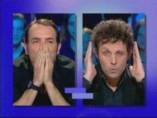 Jean Dujardin face à Stéphane Guillon