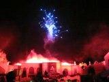 feu d'artifice Bellewaerde Halloween 2008 demarrage