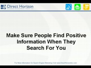 Search Engine Marketing | Who Are You?