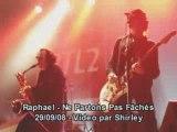 Raphael ne partons pas faches concert tres prive rtl2