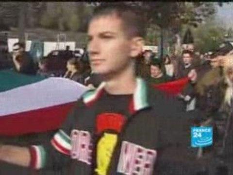 le retour du fascisme en Italie octobre 2008