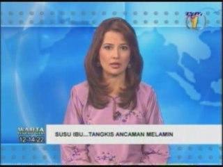 20081003-1200: SusuIbu.Com @ TV1: Isu Melamin