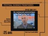 25 ème festival Science Frontières : le teaser ! 3/4