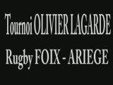 Tournoi Olivier LAGARDE rugby ariege moins de 16 ans