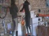 Eugenie et cecilia ki pete les plombs ^^