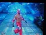 WWE  l'entrée des débuts de rey mysterio