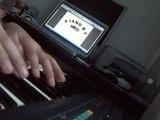 Kanye west-stronger(harder better faster stronger) piano