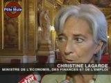 Les prévisions lucides de C. Lagarde