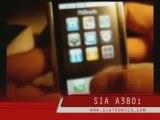 SIA A380i mobile phone DUAL SIM Touchscreen PDA
