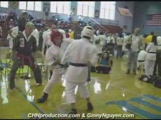 Karate Kumite Sparring