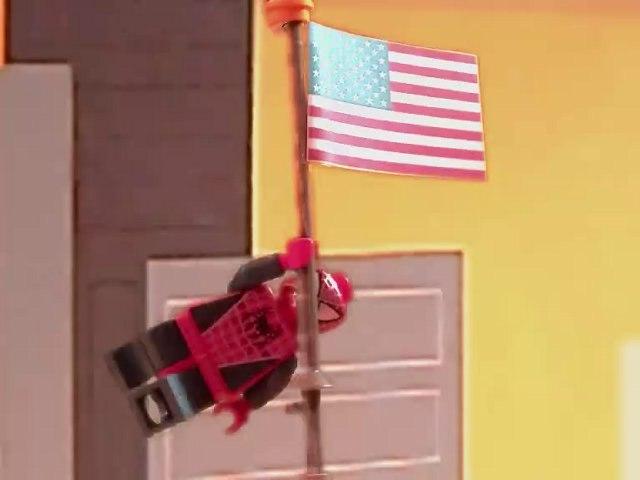Lego Spider-Man Escape of Sandman
