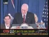 01/11 : Dick Cheney soutient John McCain (VOSTF)
