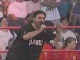Vince Russo fires Hulk Hogan Bash at the beach 2000