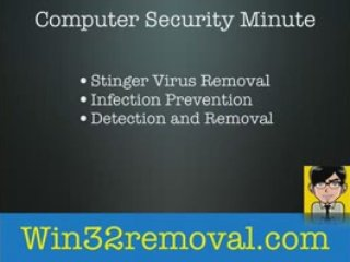 Stinger Virus Removal Software