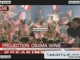 Elections américaine 2008 Victoire d'Obama