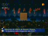Histórico discurso da vitória do 1º presidente negro dos EUA