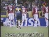 Boca 1 Inter 2 Goles Magrao Riquelme Alex