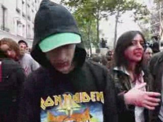 Zombie walk film