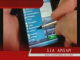 SIA 946 mobile phone from SIA, WIFI and GPS, touchscreen PDA
