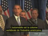 VOSTF - 7/11 : Premier discours d'Obama président élu