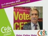 Prud'hommes 2008 Conseil St Germain en laye : Candidats CFDT