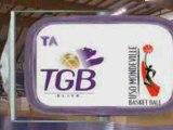 LFB 2008-2009 : J9 TGB-USO MONDEVILLE
