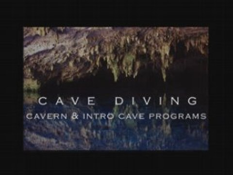 Introduction to cave diving