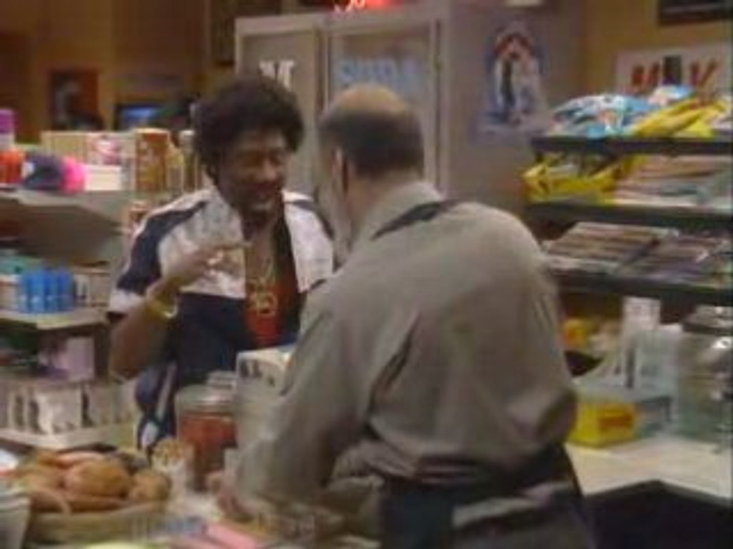 Martin (Martin Lawrence) Jerome's at the liquor store