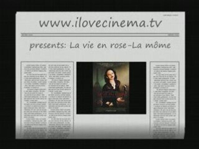 Marion Cotillard La môme Edith Piaf voit La vie en rose