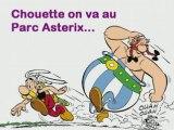 Martine Nico Elodie Sandrine David au Parc asterix 02/11/08