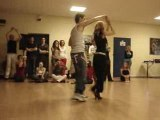 US Salsa Force - Marck et Natacha (passe de portoricaine)