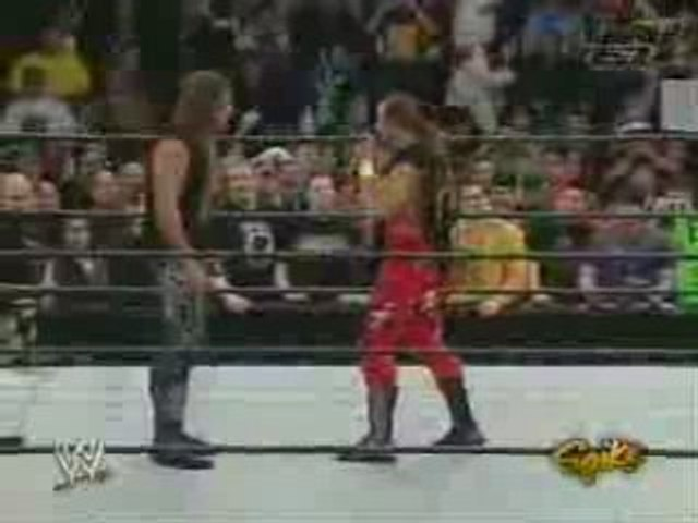 Edge And Shawn Michaels After RR 2005