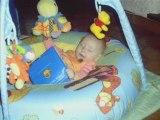 Maëlys deux mois à 5 mois
