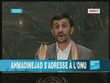 ahmadinejad La verité sur le sionisme  et l'onu