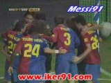 0-1 Messi Recreativo Huelva FC Barcelone