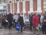 Amiens cathédrale Procession du 16.11.2008