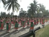 Danse Thailandaise à Sukhothai
