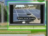 Earth 4 - Renewable Energy Solutions - Wind And Solar Power!